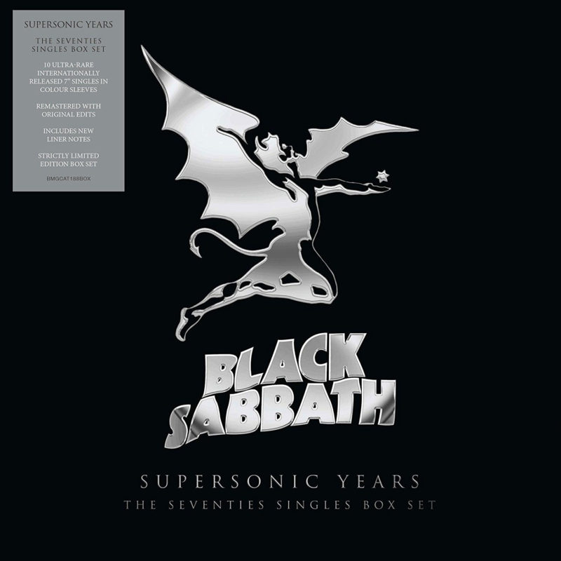 Виниловая пластинка BLACK SABBATH - Supersonic Years The Seventies Singles Box Set