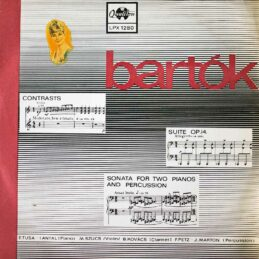 Bartok - Contrasts Suite Op. 14 Sonata For Two Pianos And Percussion