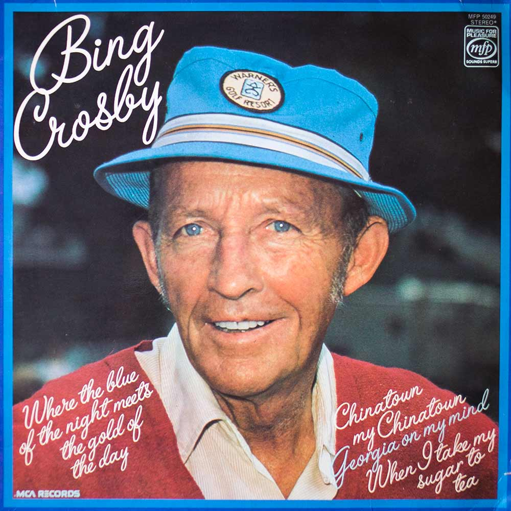 Виниловая пластинка Bing Crosby - Where The Blue Of The Night Meets The Gold Of The Day