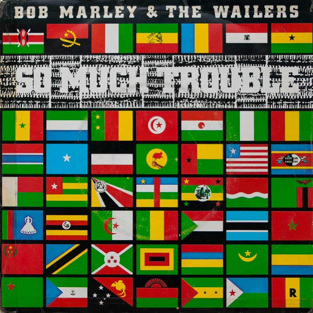 Виниловая пластинка Bob Marley & The Wailers - So Much Trouble In The World