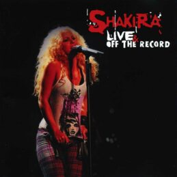 Аудио диск Shakira - Live & Off The Record