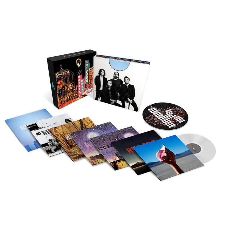 Виниловая пластинка THE KILLERS - Career Box - Limited Edition Clear Vinyl Version