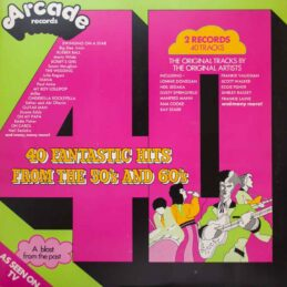 Various - 40 Fantastic Hits From The 50's And 60's